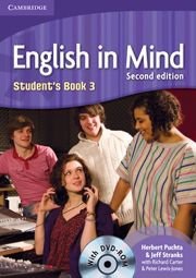 English in Mind Second Edition Level 3 Student\'s Book with DVD-ROM - Учебник по английски език с DVD-ROM