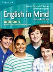 English in Mind Second Edition Level 4 Audio CDs (4)- Аудио дискове към учебника по английски език