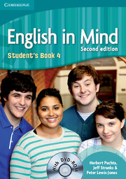 English in Mind Second Edition Level 4 Student\'s Book with DVD-ROM - Учебник по английски език с DVD-ROM