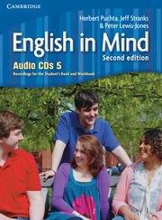 English in Mind Second Edition Level 5 Audio CDs (4)- Аудио дискове към учебника по английски език