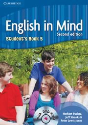 English in Mind Second Edition Level 5 Student\'s Book with DVD-ROM - Учебник по английски език с DVD-ROM