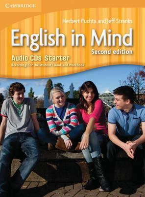 English in Mind Second edition - Starter Audio CDs (3) - Аудио дискове към учебника по английски език