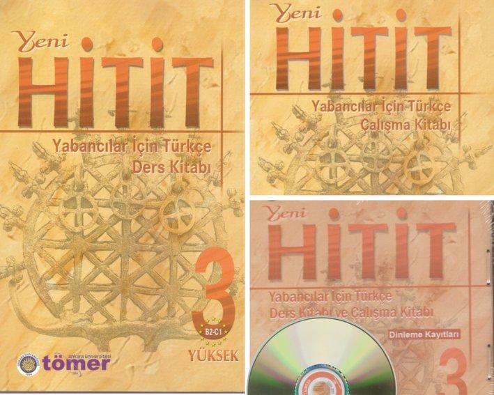 Учебен комплект по турски език - Yeni Hitit 3 (B2-C1): учебник, учебна тетрадка, аудио диск