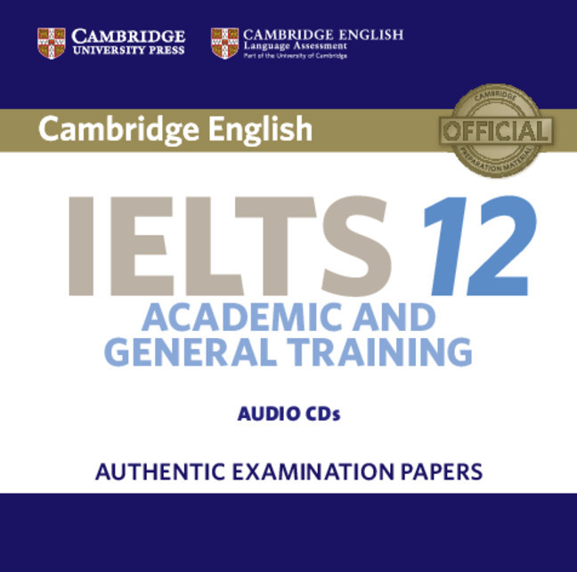 Cambridge IELTS 12 Audio CDs (2)