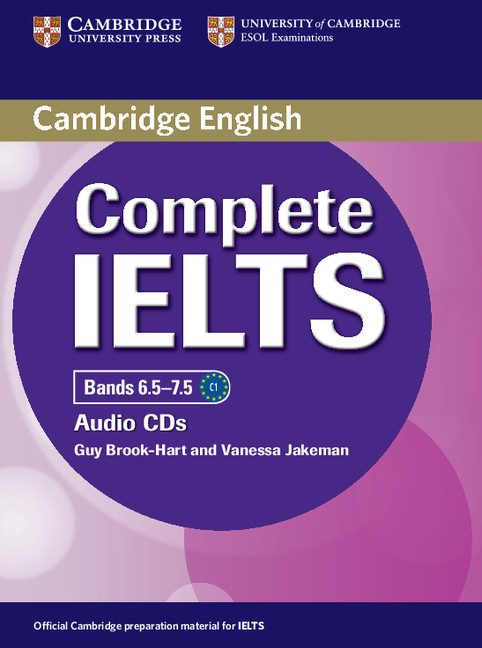 Complete IELTS Bands 6.5–7.5 Class Audio CDs (2)