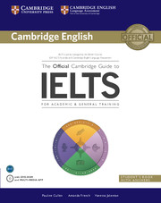 The Official Cambridge Guide to IELTS Student's Book with Answers + DVD-ROM. Учебник за сертификатния изпит IELTS.