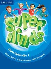 Super Minds Level 1 Class Audio CDs (2). Аудиодискове към учебника.