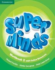 Super Minds Level 2 Workbook with Online Resources. Учебна тетрадка по английски език с онлайн ресурси.