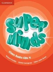Super Minds Level 4 Class Audio CDs (2). Аудиодискове към учебника.