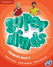 Super Minds Level 4 Student\'s Book with DVD-ROM.Учебник по английски език 1-4 клас с DVD-ROM.