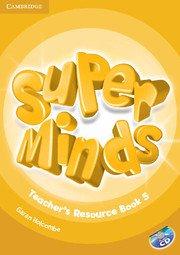 Super Minds Level 5 Teacher\'s Resource Book with Audio CD