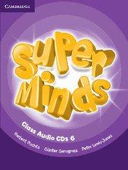 Super Minds Level 6 Class CDs (4).Аудиодискове към учебника.