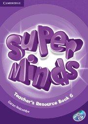 Super Minds Level 6 Teacher's Resource Book + Audio CD.