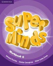 Super Minds Level 6 Workbook.Учебна тетрадка по английски 1-4 клас.