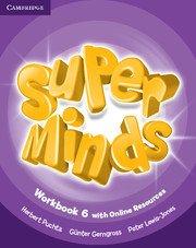 Super Minds Level 6 Workbook with Online Resources.Учебна тетрадка с онлайн ресурси.