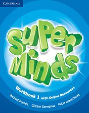 Super Minds Level 1 Workbook with Online Resources.Учебна тетрадка с онлайн ресурси.