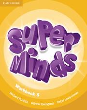 Super Minds Level 5 Workbook.Учебна тетрадка по английски език.