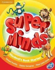 Super Minds Starter Student's Book with DVD-ROM. Учебник по английски език за деца 1-4 клас