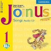 Join Us for English Level Level 1 Songs Audio CD - Аудиодиск с песни към учебник по английски език за деца 1-4 клас