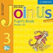 Join Us for English Level 3 Pupil\'s Book Audio CD- Аудио диск към учебника по английски език за деца 1-4 клас