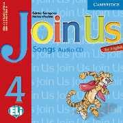 Join Us for English Level 4 Songs Audio CD- Аудио диск с песни към учебник по английски език за деца 1-4 клас