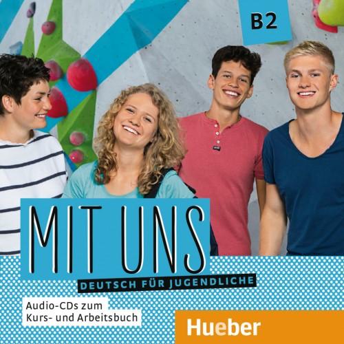 Mit uns B2 1 Audio-CD zum Kursbuch, 1 Audio-CD zum Arbeitsbuch