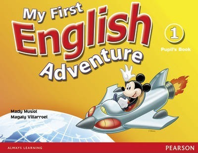 My First English Adventure Level 1 Pupils Book