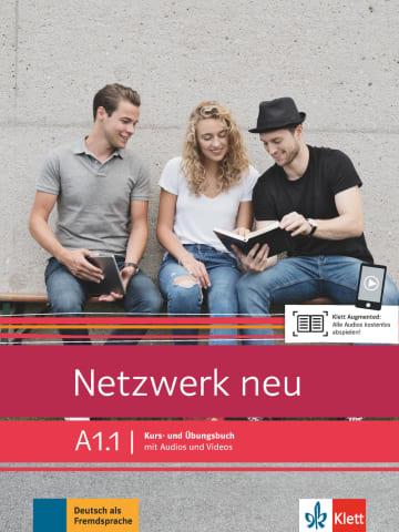Netzwerk neu A1.1.Kurs- und Übungsbuch mit Audios und Videos