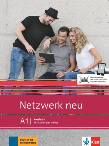 Netzwerk neu A1.Kursbuch mit Audios und Videos