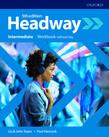 Учебна тетрадка по английски език Headway Intermediate Workbook without key Fifth Edition
