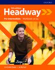 Учебна тетрадка по английски език Headway Pre-Intermediate Workbook with Key Fifth Edition