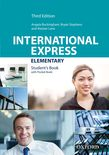 Учебник по английски език International Express Elementary Student's Book Pack Third Edition