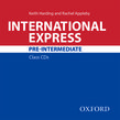 International Express Pre-Intermediate Class Audio CD Third edition