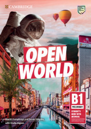 Open World Preliminary Student's Book with Answers with Online Practice