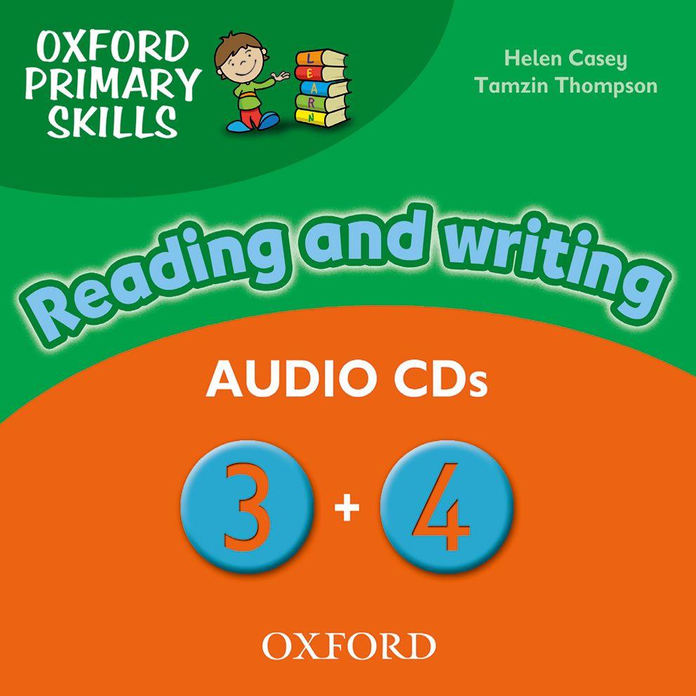 Oxford Primary Skills 3-4: Class Audio CD