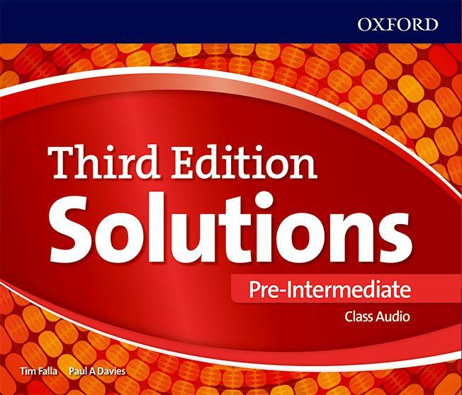 Solutions 3E Pre - Intermediate Class CD