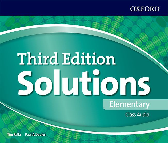 Solutions Class CD Elementary