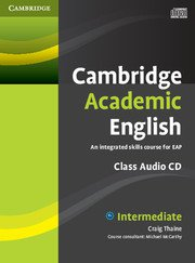 Cambridge Academic English  Intermediate Class Audio CD