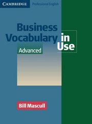 Business Vocabulary in Use Advanced  Book with answers and CD-ROM