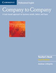 Company to Company Teacher's Book B1-B2