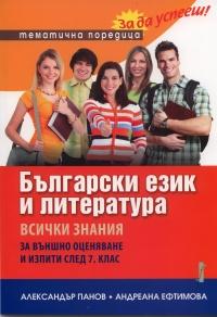 Български език и литература. Всички знания за външно оценяване и изпити след 7. клас