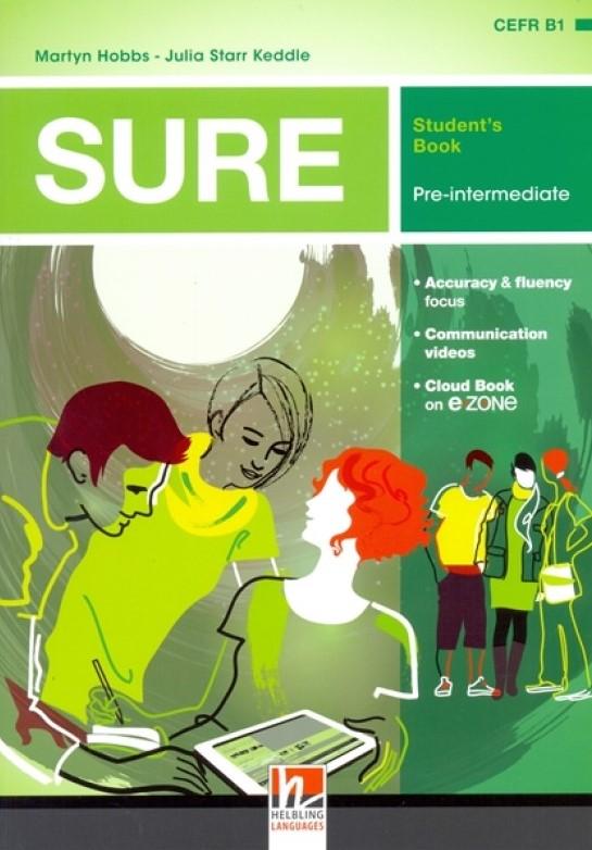 SURE Pre-Intermediate Student's Book + e-zone