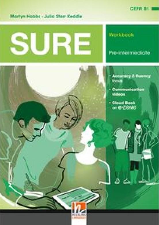 SURE Pre-Intermediate Workbook + e-zone