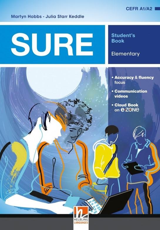 Учебник по английски език SURE A1/A2 Student's Book.