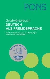 Grossworterbuch Deutsch als Fremdsprache mit CD-ROM
