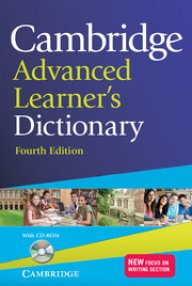 Cambridge Advanced Learner\'s Dictionary + CD-ROM