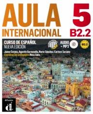Aula internacional 5 Nueva edición B2.2 Libro del alumno + CD- Учебна система по испански език ниво B2.2
