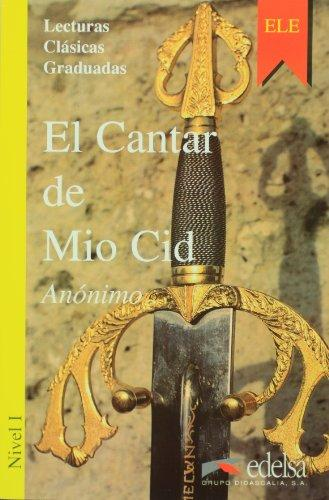 El Cantar De Mio Cid. Адаптирана книга на испански за ниво А1.