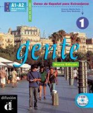 Gente Nueva Edición Libro del alumno 1 + CD- Учебник по испански език ниво А1- А2