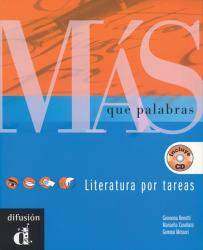 Más que palabras. Libro del alumno + CD- Учебник по испанска и латиноамериканска литература + CD